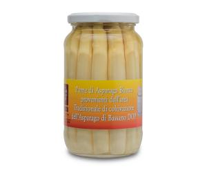 Pickled white asparagus tips
